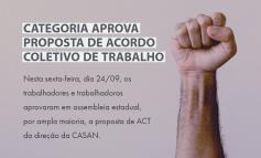 Categoria aprova proposta de Acordo Coletivo de Trabalho